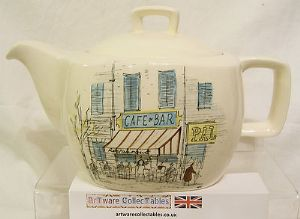 Midwinter 'Riviera' Tea Pot - 1950s - SOLD
